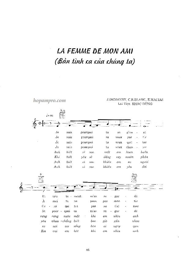 La Femme De Mon Ami-Ban tinh ca cua chung ta 01_001